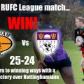 League Result: Bingham 25 - 24 Nottinghamians