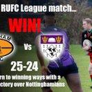 League Result: Bingham 25 - 24 Nottinghamians