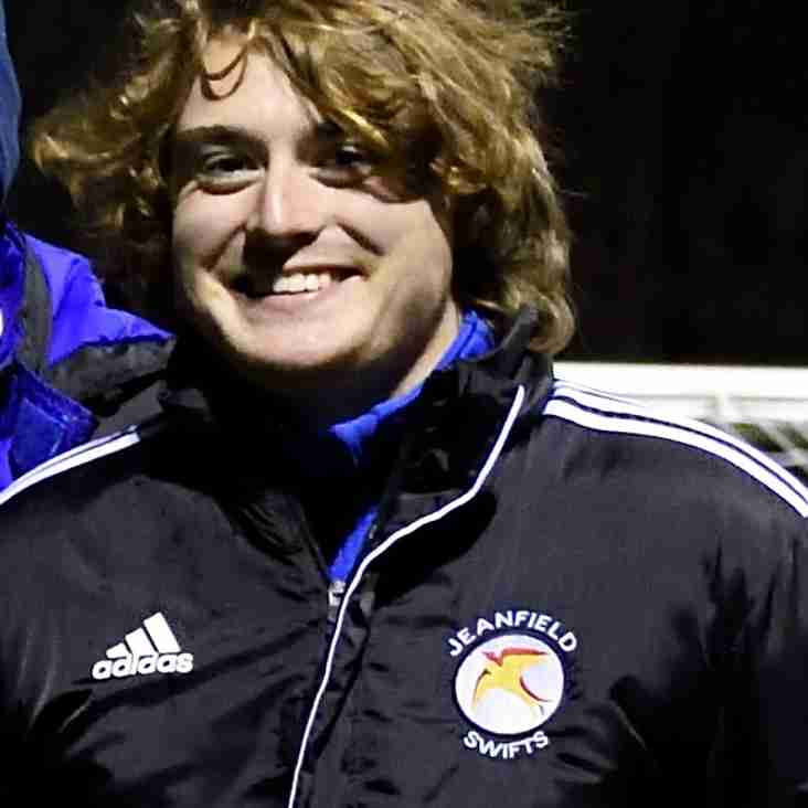 Crawford joins Jeanfield Ladies Support Team