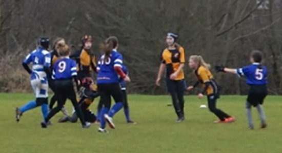 Orrell RUFC U13's & 14's Girls Team - Sunday 5th February 2017 - Tyldesley