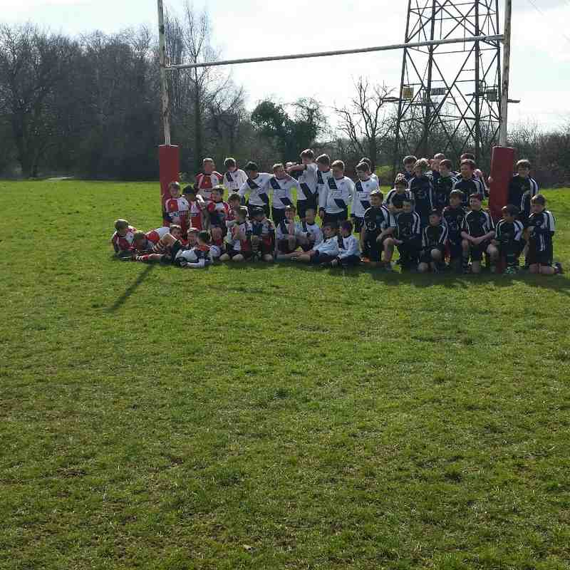 U12s Vs Barton RFC & Ledbury RFC (Touring Team)  22/03/15