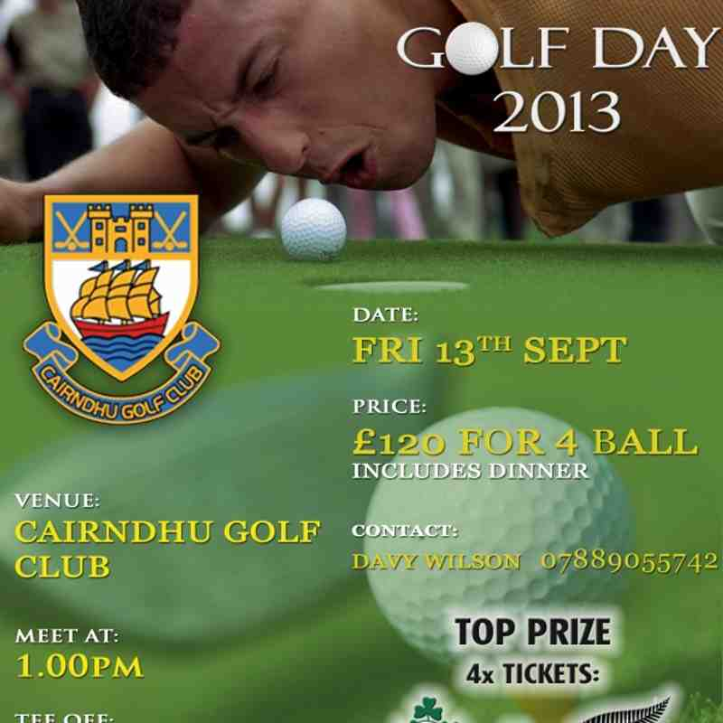 Larne Golf Day 2013