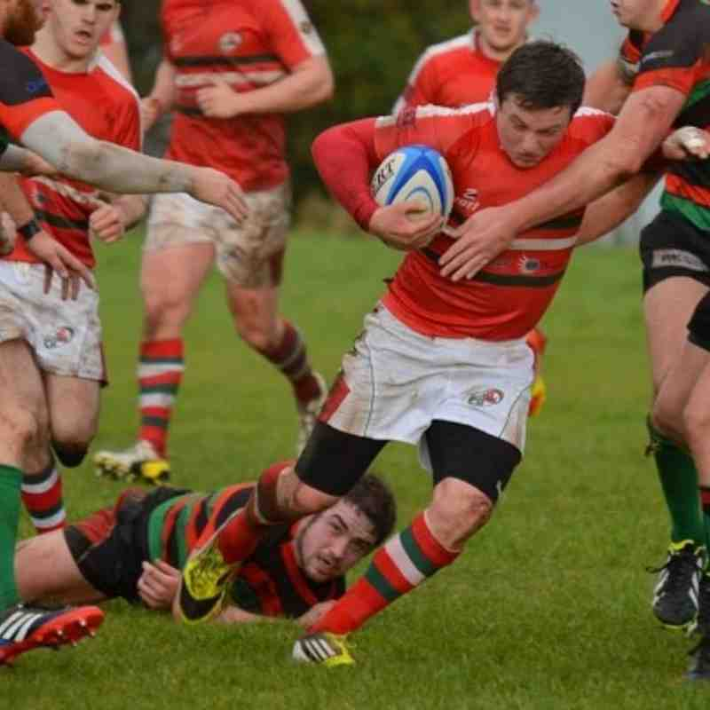 1sts v Holywood - Bill Guiller Images