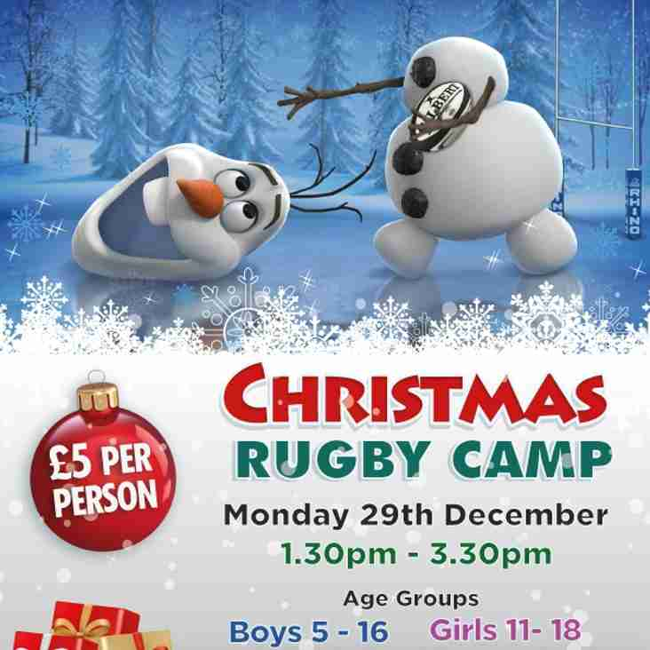 Christmas Rugby Camp