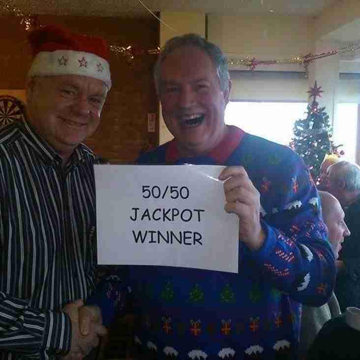 December 50-50 Club Winner