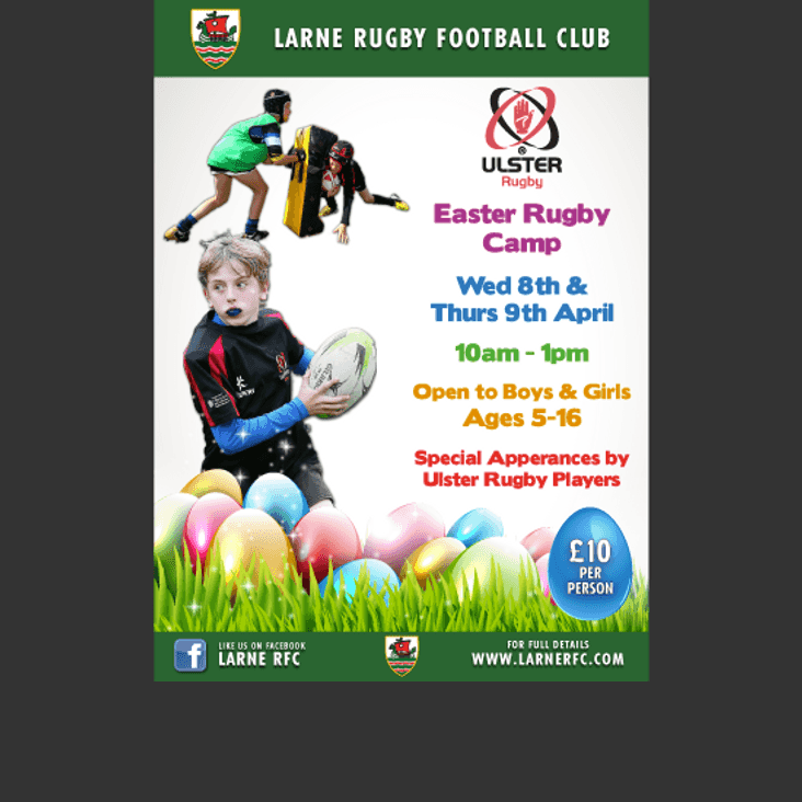 Ulster Rugby Easter Camp