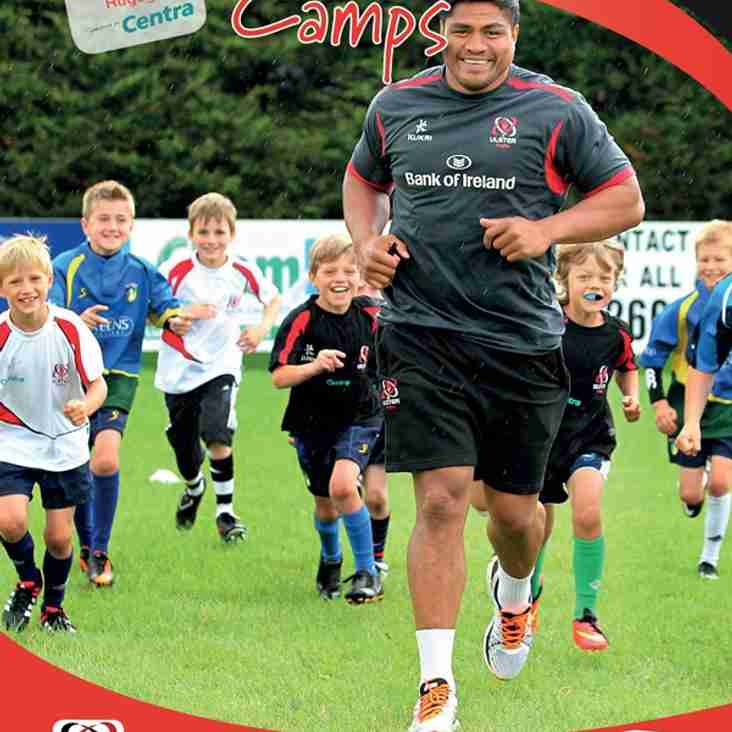Ulster Rugby Centra Summer Camps