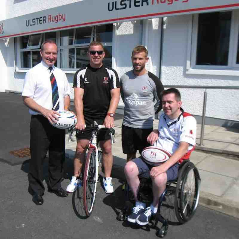IRFU Charitable Trust Sponsored Cycle 2015