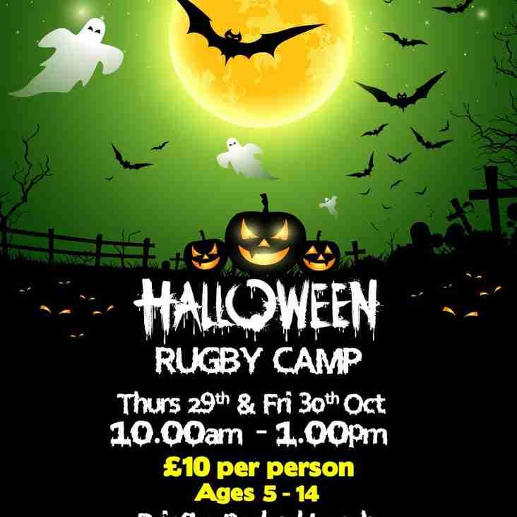 Larne RFC Halloween Camp 2015