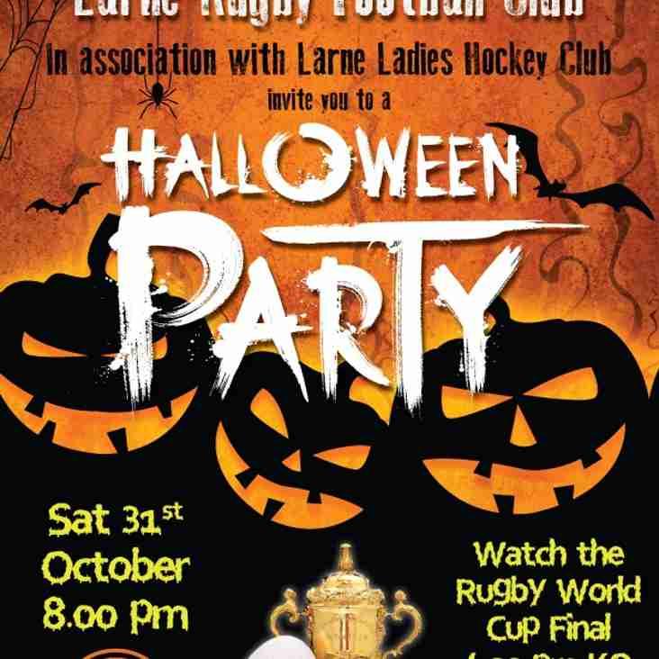 Larne RFC Halloween Party