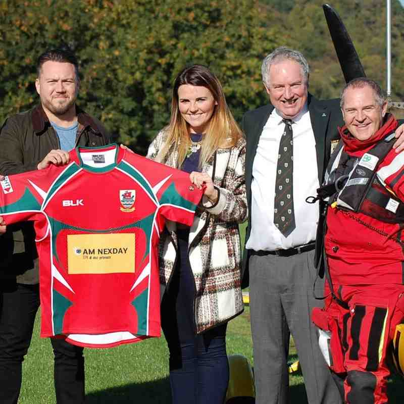Larne RFC 1sts BLK Kit Launch - Norman Surplus Gyroxcopter