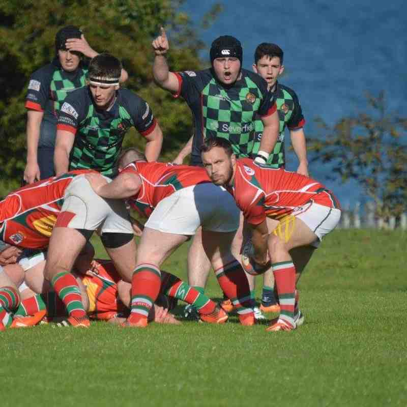 Larne 1sts v Clogher Valley, Junior Cup, 17-10-15, Bill Guiller Photos