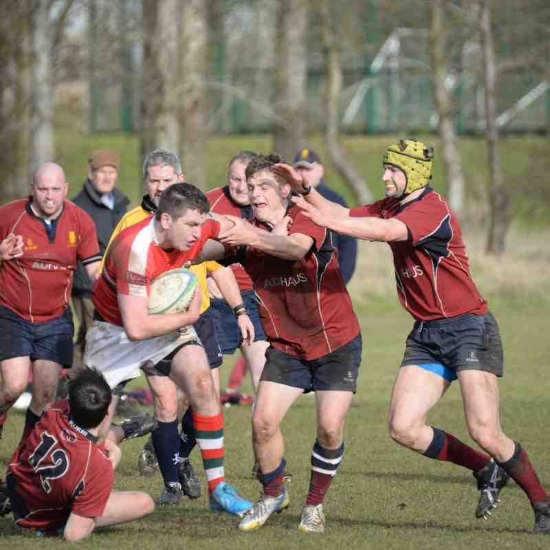 Academy 3 v Larne 3rds - 12th March 2016 - Andy Colhoun Photos