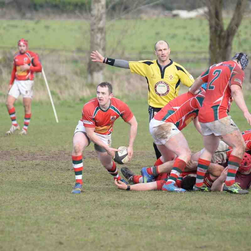 Academy 1sts v Larne 1sts - 27th Feb 2016 - Andy Colhoun Photos