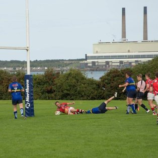 Bonus Point Win for Larne 1sts