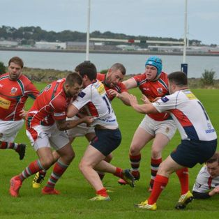 Strong Larne performance in first round of Junior Cup v Malone