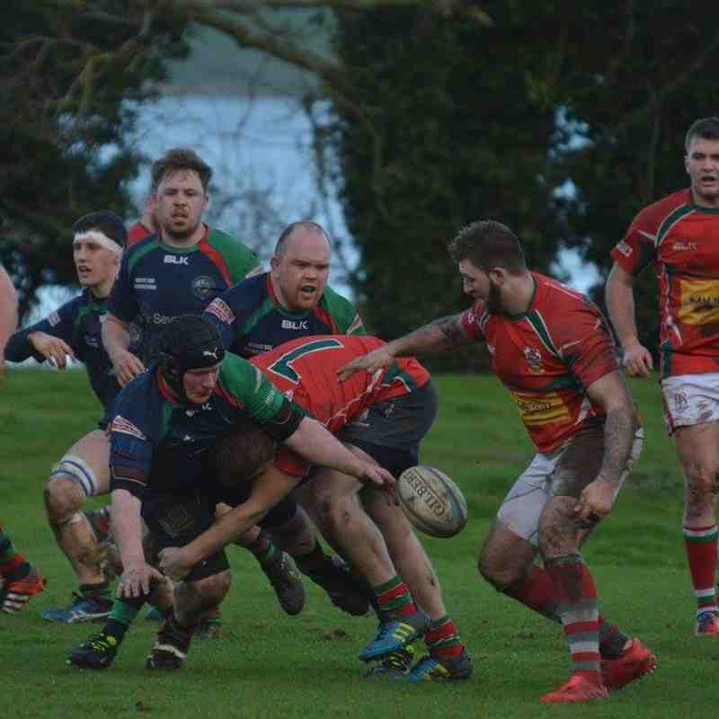 Larne 2nds v Clogher Valley (4/2/17) - Bill Guiller Images
