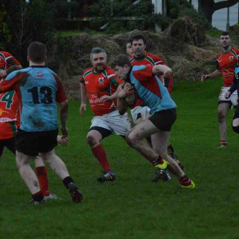 Larne 3rds v Rainey 4ths (4/2/17) - Bill Guiller Images