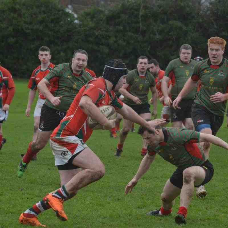 Larne 3rds v PSNI Butler Shield (18-Feb-17) - Bill Guiller Images