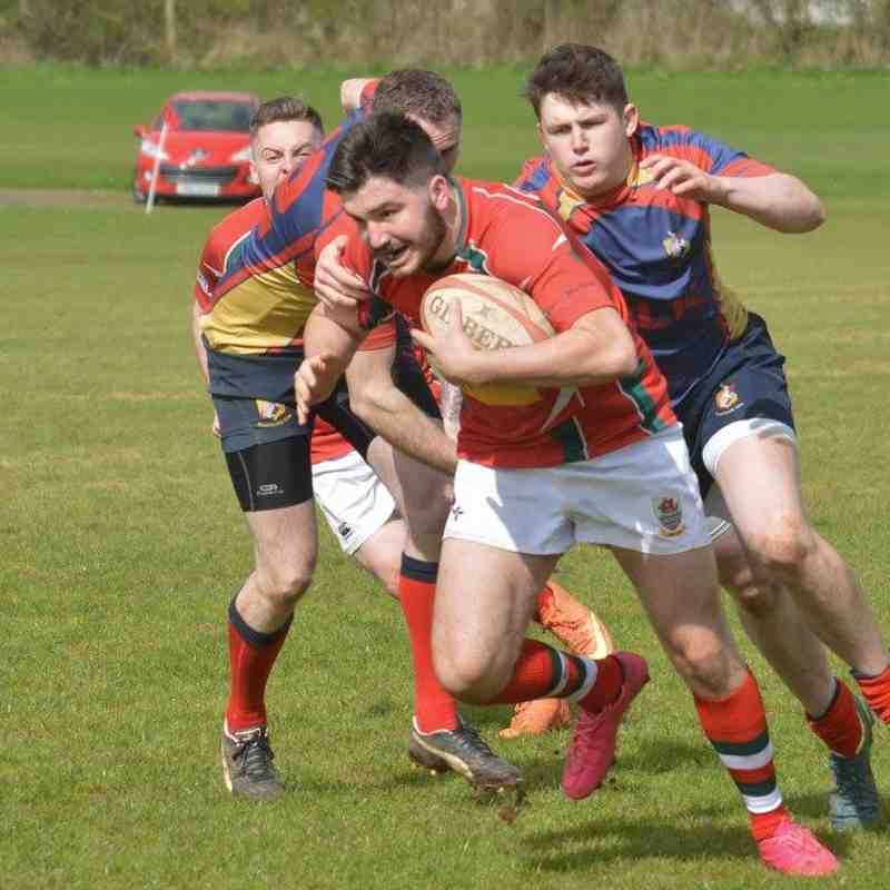 Ballyclare 2 v Larne 2, Crawford Plate Final