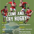 Mini Rugby is back!