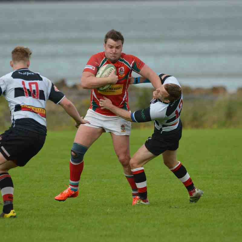 Larne RFC v Dumfries Sat 19th Aug 2017 - Bill Guiller photos
