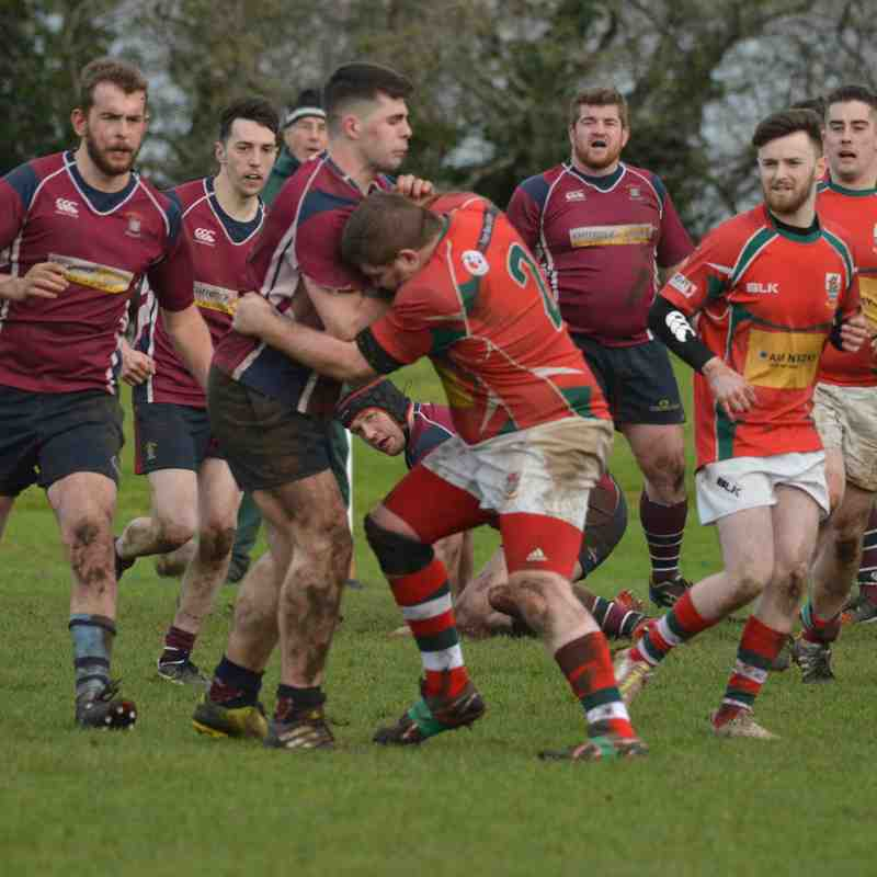 Larne 2 v Ennisklillen 2 - Crawford Plate 27-01-18. Photos by Bill Guiller