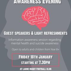 'Mind Yer Noggin' Mental Health Awareness Night