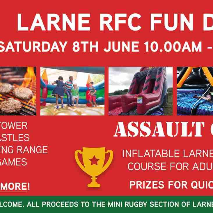 Larne RFC Fun Day