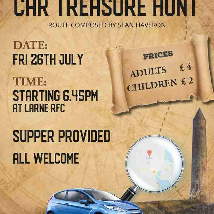 Larne RFC Treasure Hunt