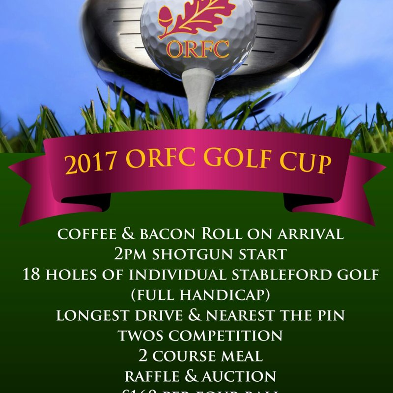 2017- ORFC Golf Cup