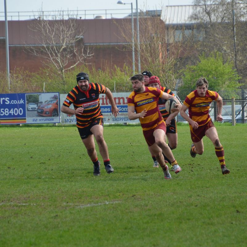 1sts- Last minute try brings another away defeat