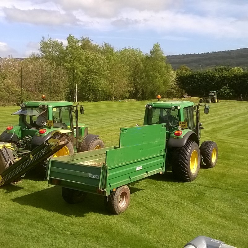 Front Pitch Project Completed