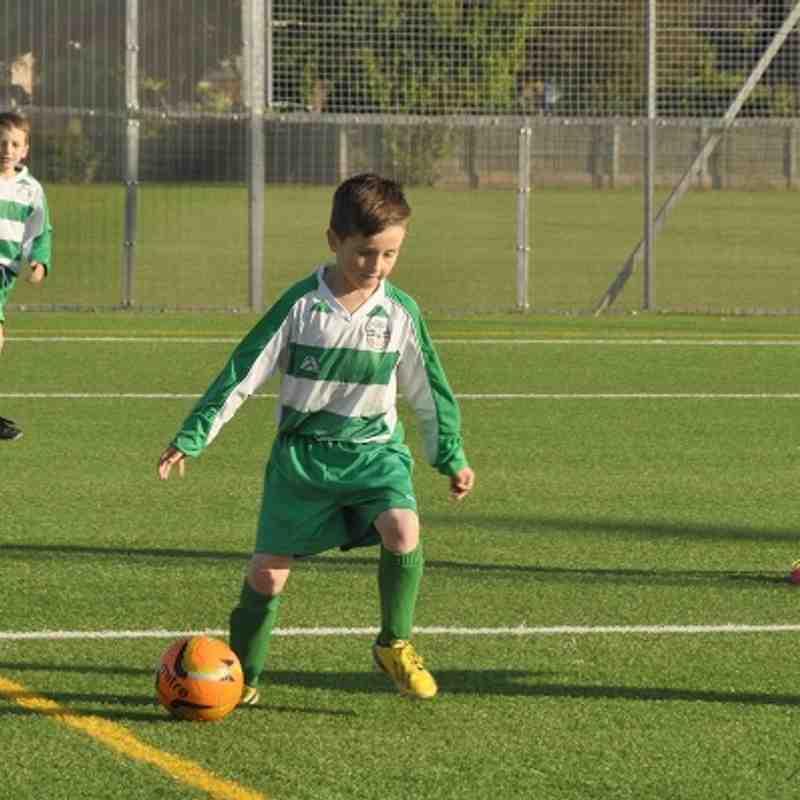 Under 9 Green vs Under 9 Hoops 2014