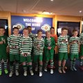 Under 14 Green lose to Radcliffe Olympic 1 - 9