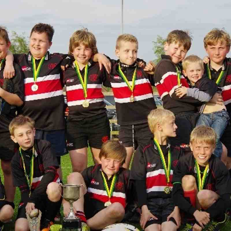 Oundle Under 10's Mobbs Winners