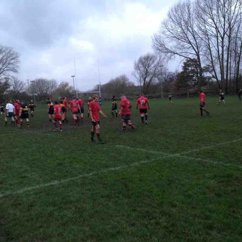 Eagles 2nd XV v Northampton Casuals III - 22nd November 2014