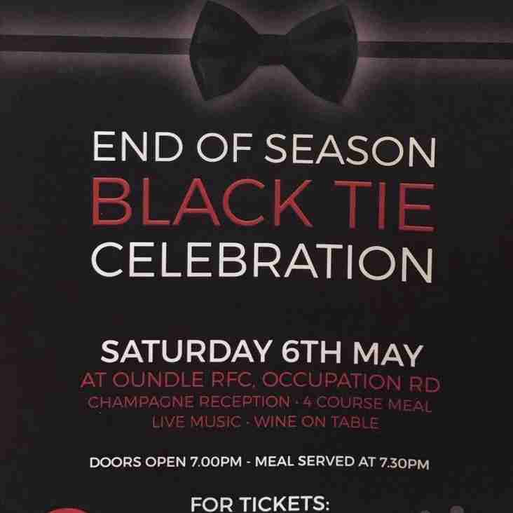 End of Season - Black Tie - Celebration