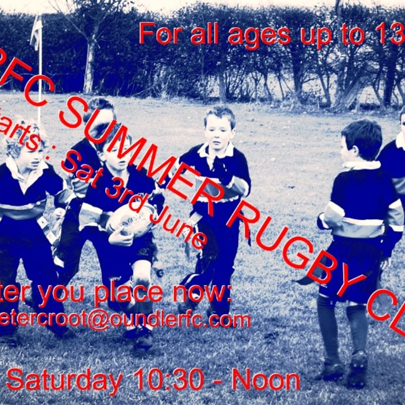 Saturday Summer Rugby at ORFC