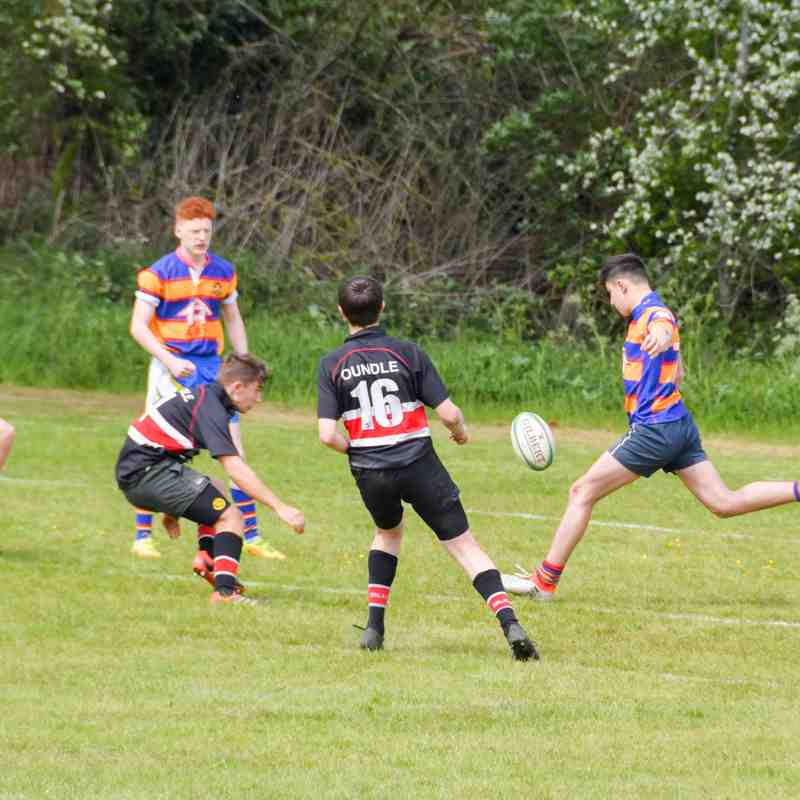 U16's v Old Halesonians