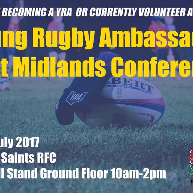 Young Rugby Ambassadors Wanted