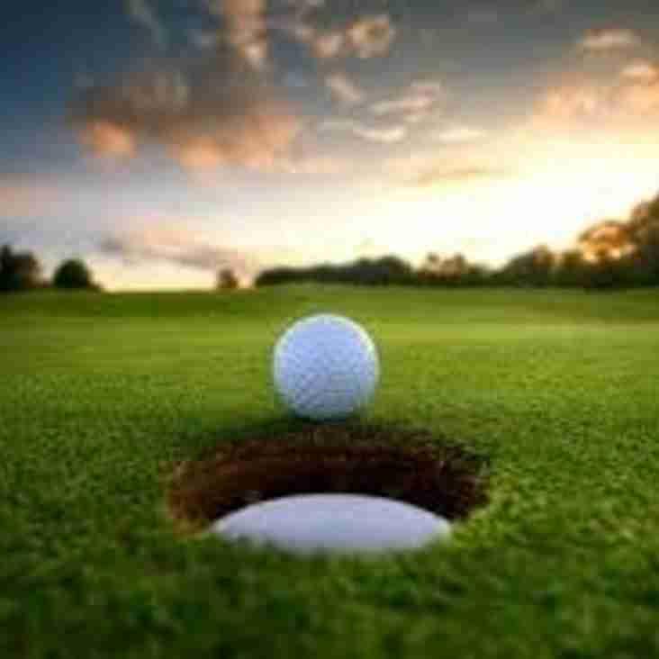 Pavilion society Golf draw Sunday 30th April