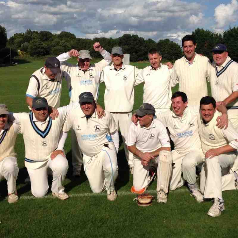 Surrey Ovalites CC Vs Goresbrook CC - 28th August 2015