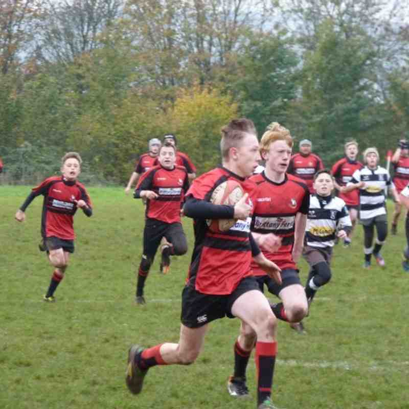 U14s Gordano v North Petherton 24-11-13
