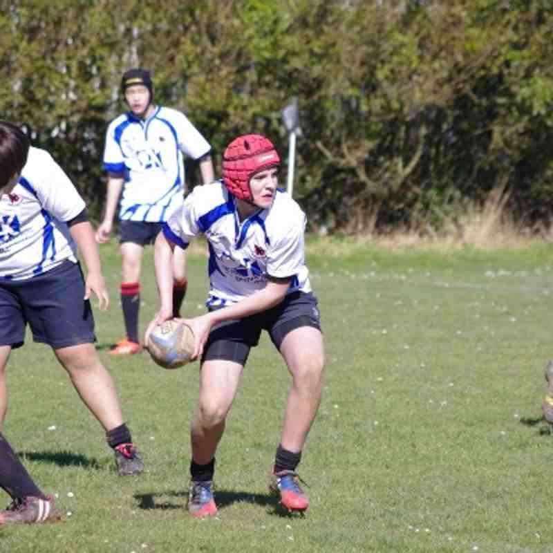 U14s v Old Bristolians 16-3-2014