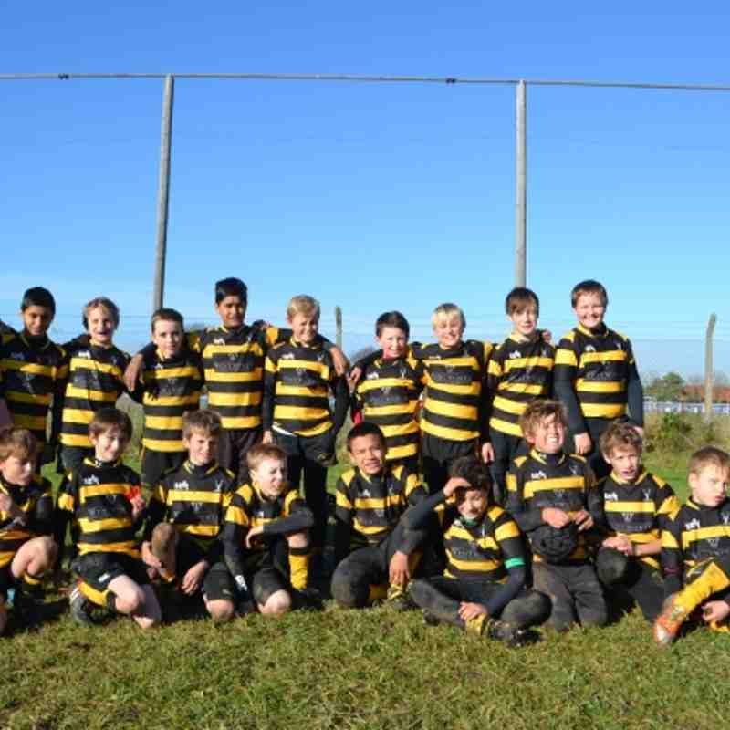 U11's Letchworth vs Hertford 11th November 2012