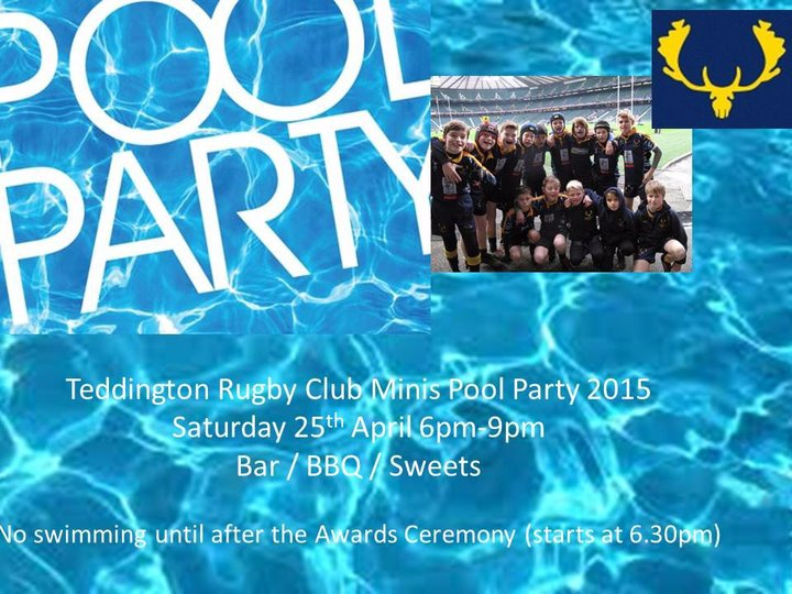 Mini Pool Party Pool Party Saturday 25th