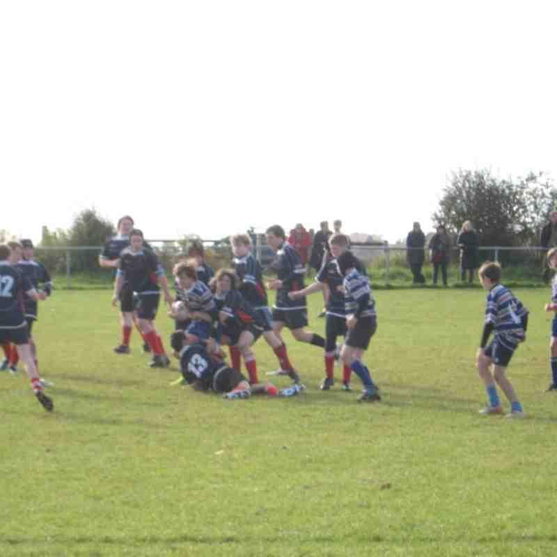 BRUFC U14's v Dinnington 141012