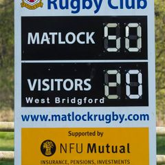 Matlock 50 v West Bridgford 20