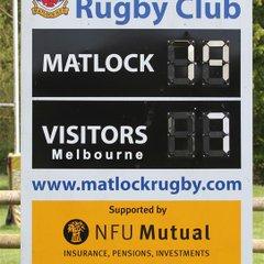 Matlock 19  v  Melbourne 7